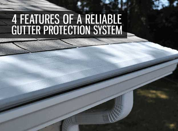 Reliable gutter protection system