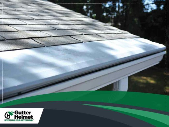 Image of covered gutters