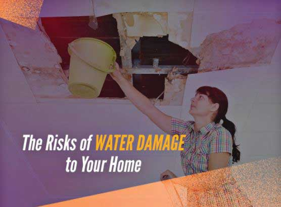 Risk of water damage
