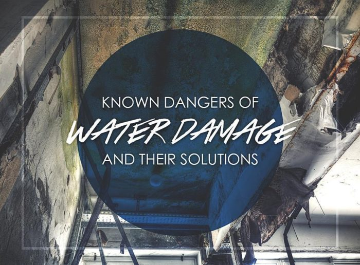 Known danger of water damage